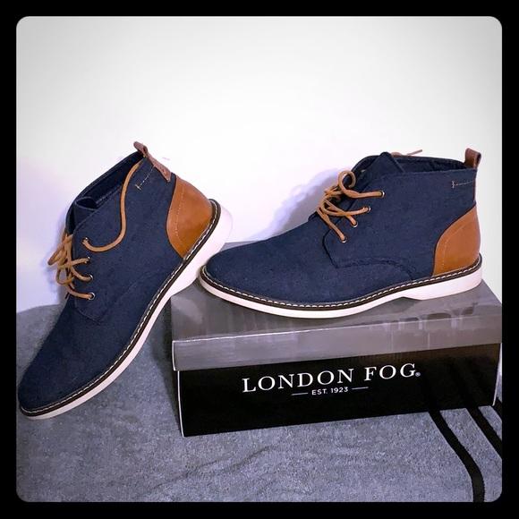 LONDON FOG Mens Belmont Chukka Boot